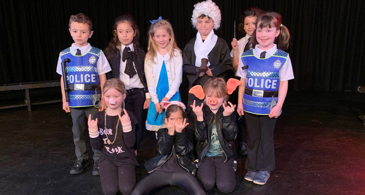 Drama - Y2 The Firs School Chester