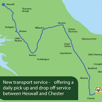 New – Transport Route into the Wirral